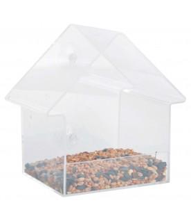 Mangeoire transparente pour fenêtre