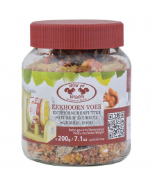 Pature cacahuètes pour écureuils