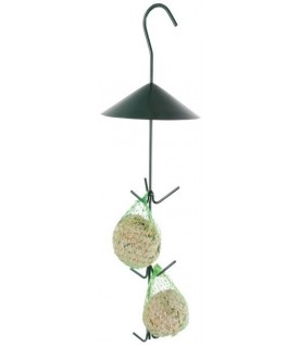 Crochets pour boules de graisse, vert foncé
