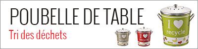 Poubelle de table