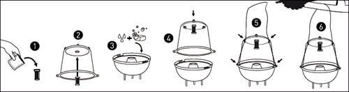 Notice piège à phéromones mouches